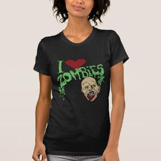 T-shirt J'aime des zombis