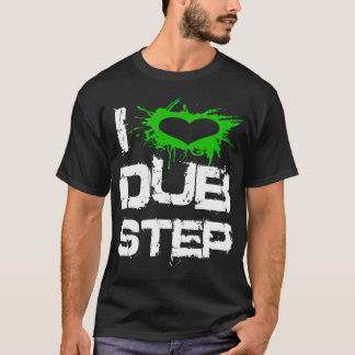 T-shirt J'aime Dubstep