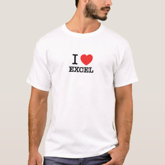T-shirt J'aime EXCEL