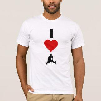 T-shirt J'aime faire du roller (la verticale)