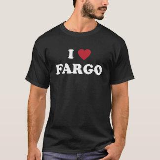 T-shirt J'aime Fargo le Dakota du Nord