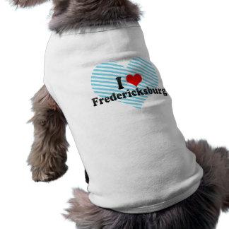 T-shirt J'aime Fredericksburg, Etats-Unis