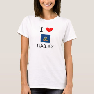 T-shirt J'aime HAILEY Idaho