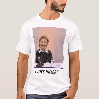 T-shirt J'aime Hillary !