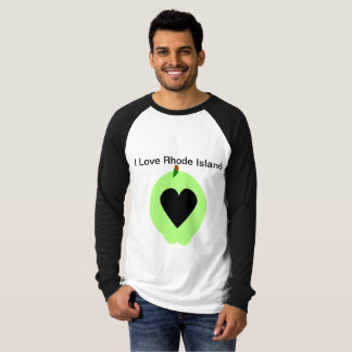 T-shirt J'aime Île de Rhode