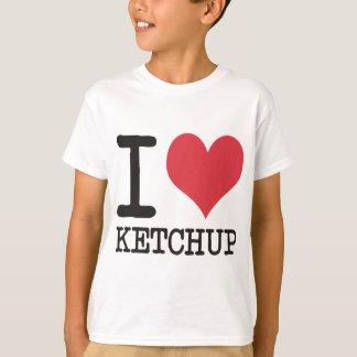 T-shirt J'aime JAVA - KETCHUP - des produits et des
