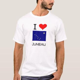 T-shirt J'aime JUNEAU Alaska