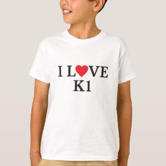 T-shirt J'aime K1