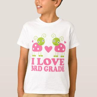 T-shirt J'aime la 3ème coccinelle de catégorie