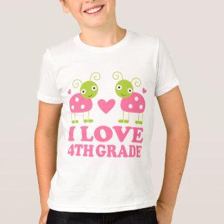 T-shirt J'aime la 4ème coccinelle de catégorie