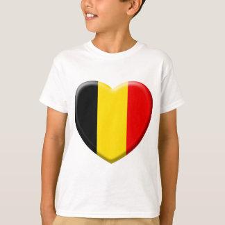 T-shirt j'aime la Belgique