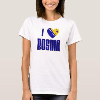 T-shirt J'aime la Bosnie