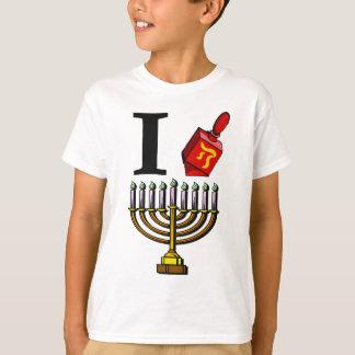 T-shirt J'aime la chemise de Chanukah