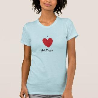 T-shirt J'aime la chemise de HubPages