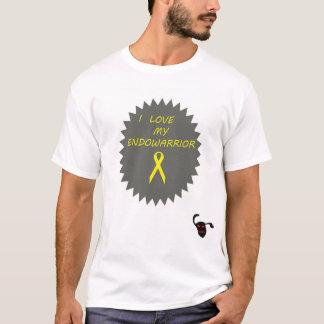 T-shirt J'aime la chemise de mes hommes d'endowarrior