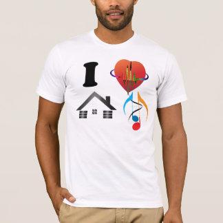 T-shirt J'aime la chemise de musique de Chambre