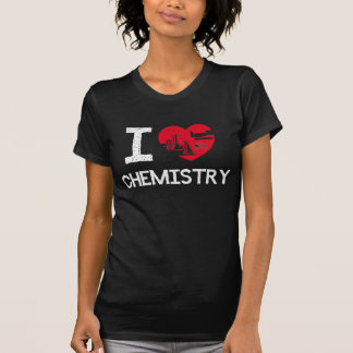 T-shirt J'aime la chimie ! ! !