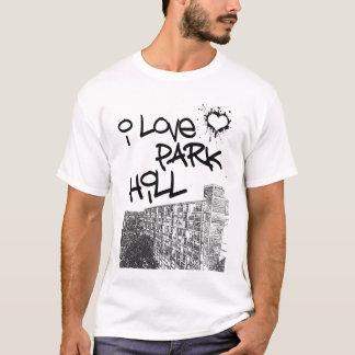 T-shirt J'aime la colline de parc