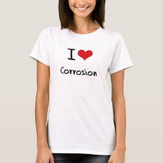 T-shirt J'aime la corrosion