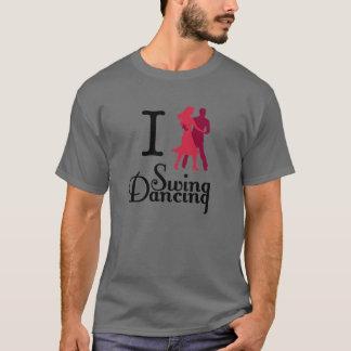 T-shirt J'aime la danse d'oscillation