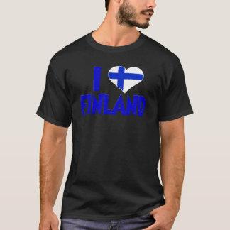 T-shirt J'aime la Finlande