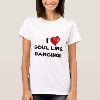 T-shirt J'aime la ligne danse d'âme !