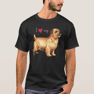 T-shirt J'aime la ma Norfolk Terrier