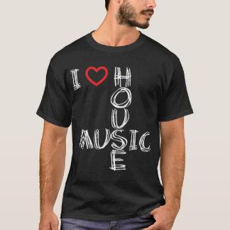 T-shirt J'aime la musique 4 de Chambre