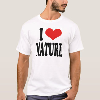 T-shirt J'aime la nature