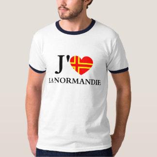 T-shirt J'aime la Normandie