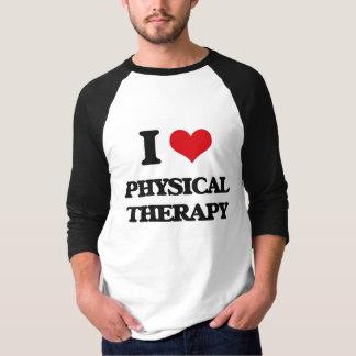 T-shirt J'aime la physiothérapie
