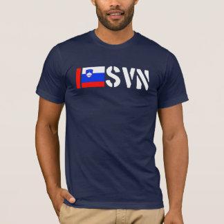 T-shirt J'aime la pièce en t de la Slovénie