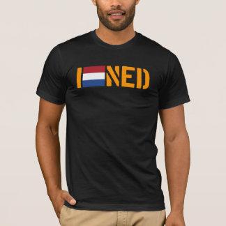 T-shirt J'aime la pièce en t de NEDERLANDS