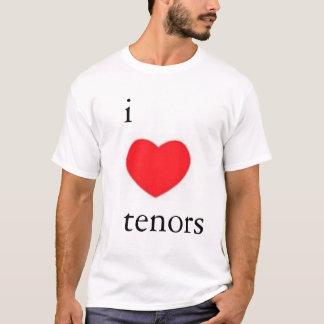 T-shirt J'aime la pièce en t de tenors