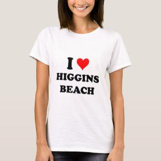 T-shirt J'aime la plage Maine de Higgins