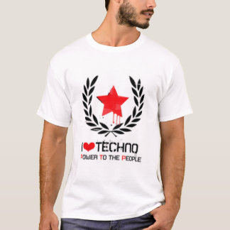 T-shirt J'aime la techno