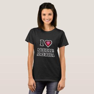 T-shirt J'aime l'Amérique moyenne