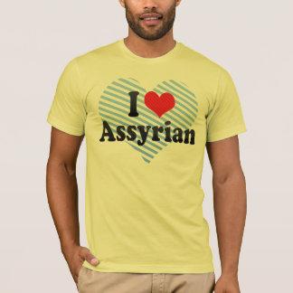 T-shirt J'aime l'assyrien