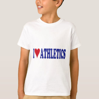 T-shirt J'aime l'athlétisme