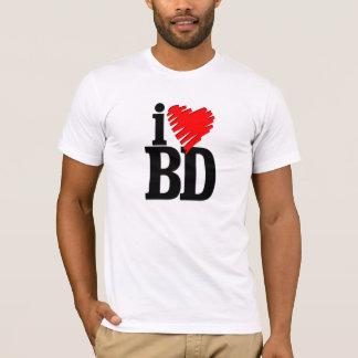 T-shirt j'aime le Bangladesh (bd)