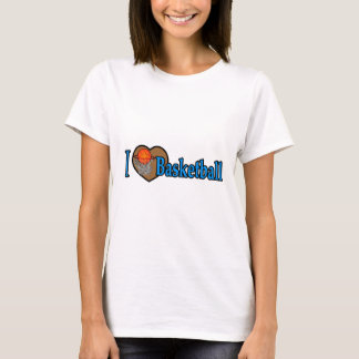 T-shirt J'aime le basket-ball