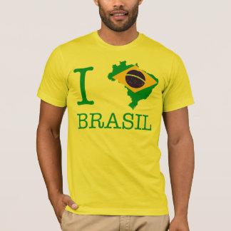 T-shirt J'aime le Brésil, j'aime le Brésil
