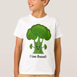 T-shirt J'aime le brocoli