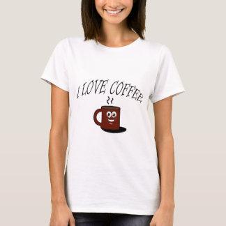T-shirt J'aime le café