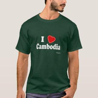 T-shirt J'aime le Cambodge