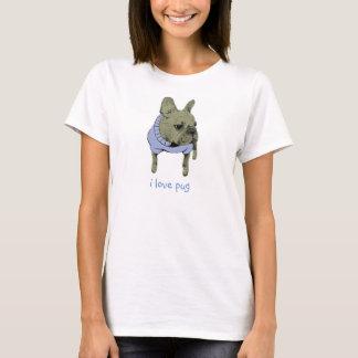 T-shirt j'aime le carlin