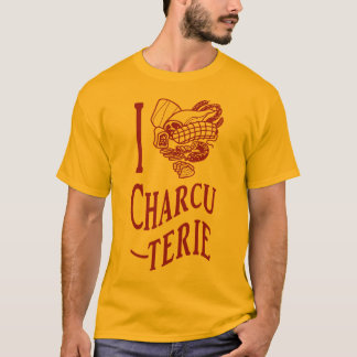 T-shirt J'aime le Charcuterie