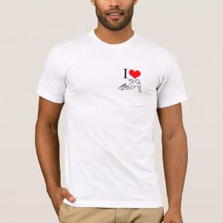 T-shirt J'aime le classique de patinage de vitesse (Outta