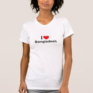 T-shirt J'aime le coeur Bangladesh