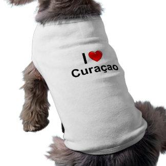 T-shirt J'aime le coeur Curaçao